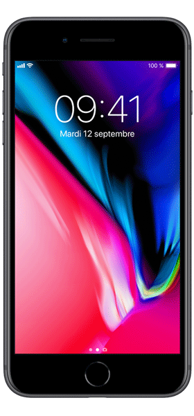 Téléphone Apple iPhone 8 Plus 64Go Gris Sideral Comme Neuf