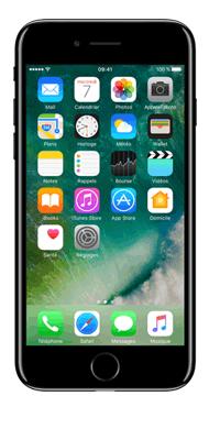 Téléphone Apple iPhone 7 Noir de Jais 32 Go Comme Neuf