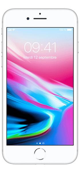 Téléphone Apple iPhone 8 64Go Argent Comme Neuf