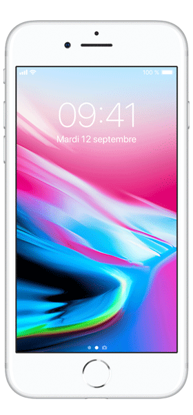 Téléphone Apple Apple iPhone 8 64Go Argent Comme Neuf