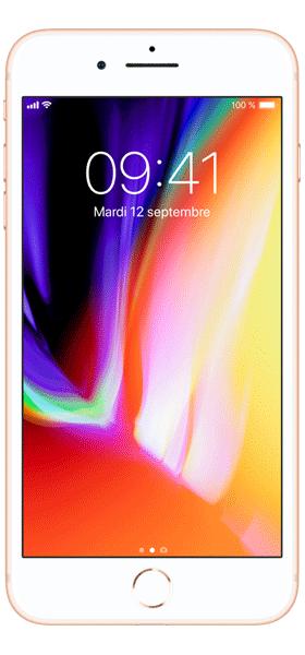Téléphone Apple iPhone 8 Plus 256Go Or Comme Neuf