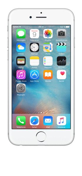Téléphone Apple iPhone 6S Argent 32Go Très bon état