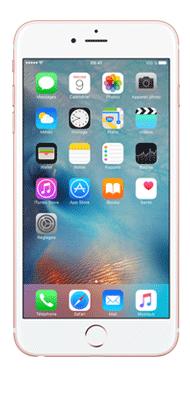Téléphone Apple iPhone 6S plus Or Rose 32Go Très bon état