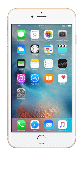 Téléphone Apple iPhone 6S Plus Or 32Go Très bon état