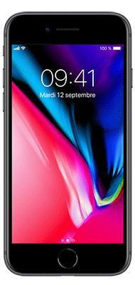 Téléphone Apple Apple iPhone 8 64Go Gris Sideral Très bon état