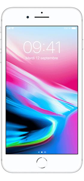 Téléphone Apple Apple iPhone 8 Plus 64Go Argent Très bon état