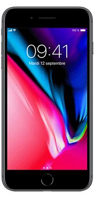 Téléphone Apple Apple iPhone 8+ 64Go Gris Sideral Très bon état