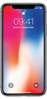 Téléphone Apple iphone X 256Go Gris Sideral - Très bon état