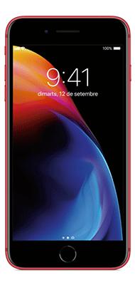 Téléphone Apple iPhone 8 Plus 64Go Rouge Comme Neuf