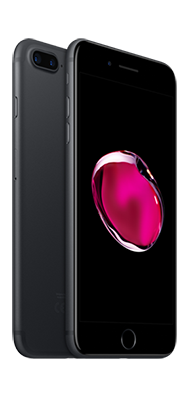 Téléphone Apple iPhone 7 Noir de Jais 128 Go Etat correct