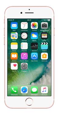 Téléphone Apple Apple iPhone 7 Or Rose 128 Go Bon état