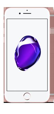 Téléphone Apple iPhone 7 Or Rose 128 Go état correct