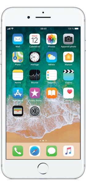 Téléphone Apple Apple iPhone 7 Plus Argent 32Go Bon état