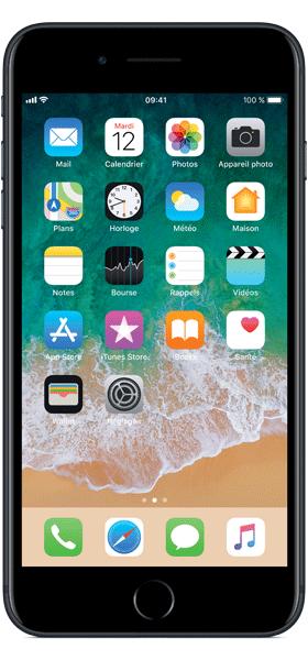 Téléphone Apple Apple iPhone 7 Plus Noir 128Go Bon état