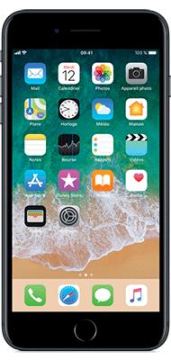 Téléphone Apple iPhone 7 Plus Noir 128Go Etat correct