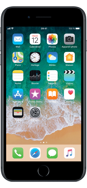 Téléphone Apple Apple iPhone 7 Plus Noir 32Go Etat correct