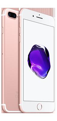 Téléphone Apple Apple iPhone 7 Plus Or Rose 128Go Bon état