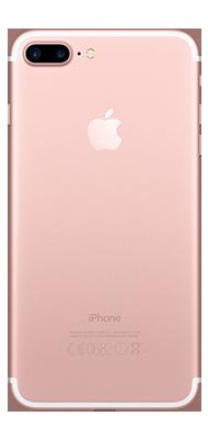 Téléphone Apple iPhone 7 Plus Or Rose 128Go Bon état