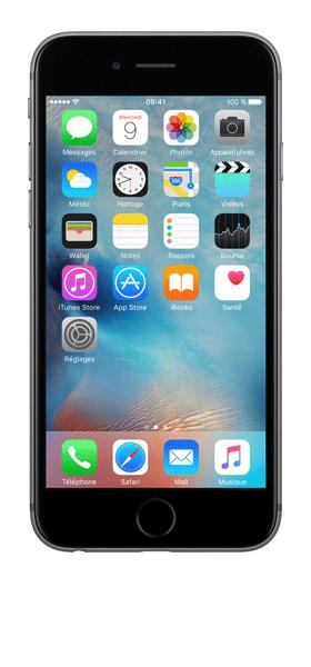 Téléphone Apple iPhone 6S Gris Sideral 64Go Bon état
