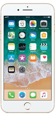 Téléphone Apple iPhone 7 Plus Or 128Go Bon état