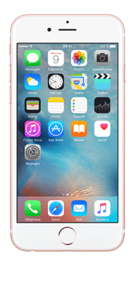 Téléphone Apple Apple iPhone 6S Or Rose 32Go Bon état