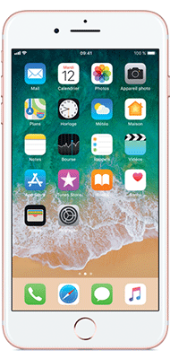 Téléphone Apple iPhone 7 Plus Or Rose 128Go état correct