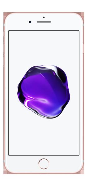 Téléphone Apple Apple iPhone 7 Plus Or Rose 32Go Etat correct