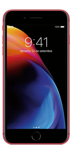 Téléphone Apple iPhone 8 Plus 64Go Rouge Bon état