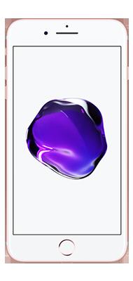 Téléphone Apple iPhone 7 Plus Or Rose 32Go Bon état