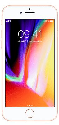 Téléphone Apple iPhone 8 64Go Or Etat correct