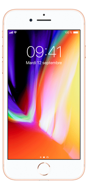 Téléphone Apple Apple iPhone 8 64Go Or Etat correct