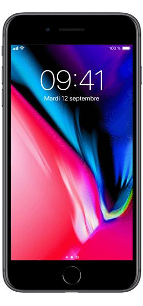 Téléphone Apple Apple iPhone 8 Plus 64Go Gris Sideral Etat correct