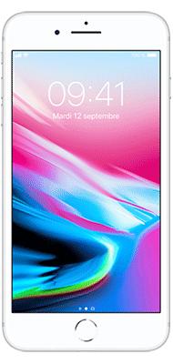 Téléphone Apple Apple iPhone 8 Plus 64Go Argent Bon état