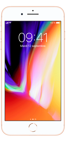 Téléphone Apple iPhone 8 Plus 256Go Or Etat correct
