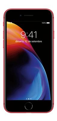Téléphone Apple iPhone 8 64Go Rouge état correct