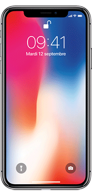 Téléphone Apple Apple iPhone X 64Go Gris Sideral Etat correct