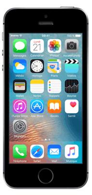 Téléphone Apple iPhone SE Gris 16Go état correct