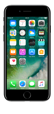 Téléphone Apple iPhone 7 Plus Noir de Jais 256Go Etat correct