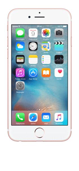 Téléphone Apple Apple iPhone 6S Or Rose 32Go Etat correct