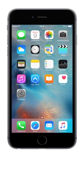 Téléphone Apple iPhone 6s Plus Gris Sideral 128Go Etat correct