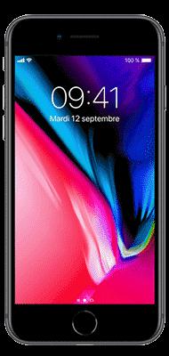 Téléphone Apple Apple iPhone 8 64Go Argent Etat correct