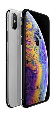 Téléphone Apple iPhone XS 64GB Silver Comme Neuf