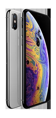 Téléphone Apple iPhone XS 64GB Silver état correct