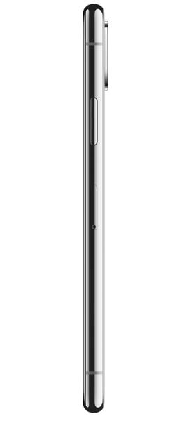 Téléphone Apple iPhone X 64Go Argent Bon état
