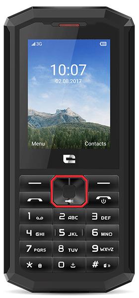 Téléphone Crosscall Crosscall Spider X5 noir et rouge Comme Neuf