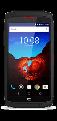 Téléphone Crosscall Trekker X3 noir et rouge Comme Neuf