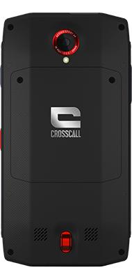 Téléphone Crosscall Crosscall Trekker X3 noir et rouge Comme Neuf