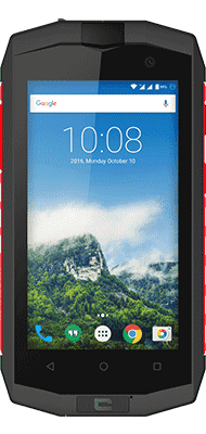 Téléphone Crosscall Crosscall Trekker-M1 Core gris et rouge Comme Neuf
