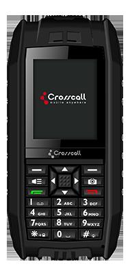 Téléphone Crosscall Shark V2 noir Comme neuf