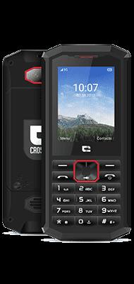 Téléphone Crosscall SPIDER X5 Noir / Rouge